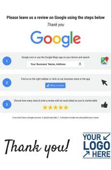 SocialPruf Google Review Reminder