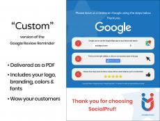 "Google Review Reminder - ""Custom"" - 1"